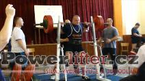 Martin Škorvánek, dřep 250kg