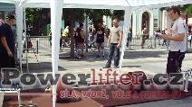 Denis Šindel, mrtvý tah 300kg, vítězný pokus