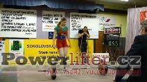 Lenka Goliášová, 132,5kg