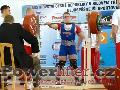 Jakub Sedláček, dřep 295kg, český juniorský rekord do 82,5kg