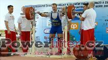 David Sluštík, 280kg