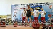 David Lupač, 315kg
