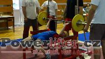 Veronika Leitkepová, 57,5kg, český rekord v dorostu do 56kg