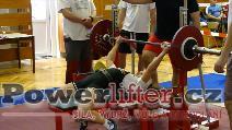 Jana Došlíková, 90kg, výkon bez dresu do 67,5kg