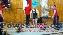 Karel Schoř, mrtvý tah 250kg, český rekord v M2 do 82,5kg