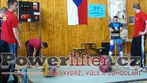Milan Greguš, 255kg