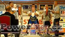 Karel Schoř, CZE, 220kg