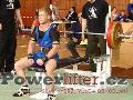 Sergev Děmčichin, benč 160kg, tělesná váha 67,4kg