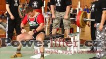 Milan Greguš, benč 205kg