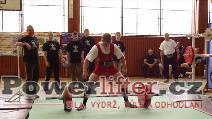 Sergev Děmčichin, mrtvý tah 210kg