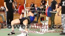 Antonín Pavlovec, benč 165kg