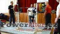 Václav Burda, 160kg