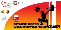 VISEGRAD 4 Tournament in Weightlifting of Olympic Hopes 2020