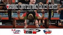 Vision Nutrition RAW 2018 - soutěž v silovém trojboji dorostu a juniorů