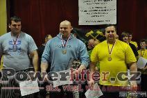 Vyhlášení výsledků - muži nad 120kg