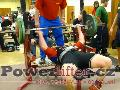 Dorostenci do 125kg - benchpress
