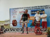 Jaroslav Mikulanda, 270kg
