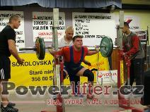 Pavel Bartošík, 210kg