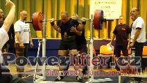 Antonín Pavlovec, dřep 270kg