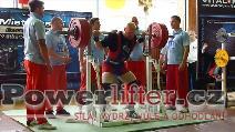 Martin Brabec, dřep 290kg