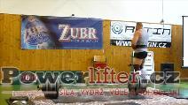 Jan Žvak, 320kg