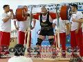 Milan Špingl, dřep 430kg, ��eský rekord nad 125kg