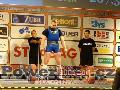 Petteri Hakkarainen, FIN, upuštěný mrtvý tah 267,5kg, muži M1 do 90kg