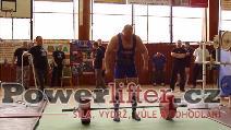 Pavel Župka, mrtvý tah 285kg