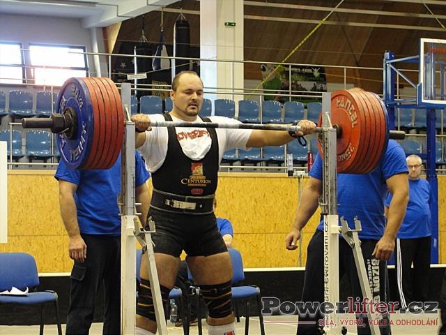 Vladimír Pop, dřep 320kg