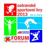Pozvánka na Ostravské sportovní hry 2013, Nová Karolína