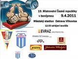 Pozvánka na 19. Mistrovství ČR v benčpresu mužů a žen, Ostrava - Vítkovice