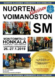 Finnish Classic Sub-Junior and Junior Powerlifting Nationals