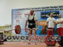 František Stříska, 245kg