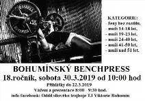 18. ročník Bohumínského benchpressu