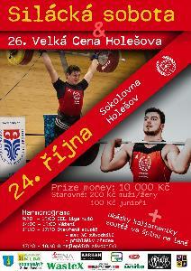 26. ročník VC Holešova ve vzpírání a 24. Mezinárodní mistrovství Moravy v nadhozu