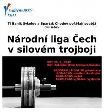3. ročník Národní ligy - Čechy v silovém trojboji družstev