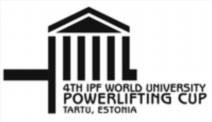 4. Světový pohár v klasickém (RAW) silovém trojboji univerzit