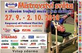 Pozvánka na 28. a 19. MS v silovém trojboji mužů a žen Masters, Plzeň