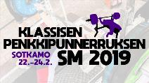 Finnish Classic Sub-Junior, Junior, Open and Master Benchpress Nationals