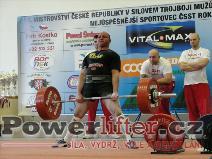 Lukáš Theuser, 282,5kg