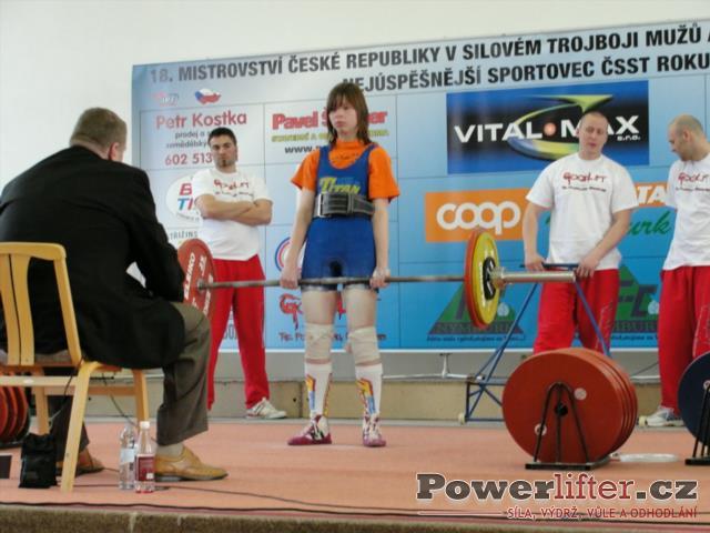 Markéta Kovrzková, 110kg
