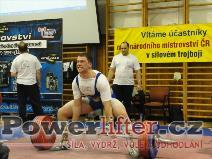 Martin Kozák, 272,5kg