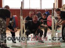 Milan Ryšavý, dřep 220kg