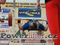 Miroslav Hejda, benč 230kg