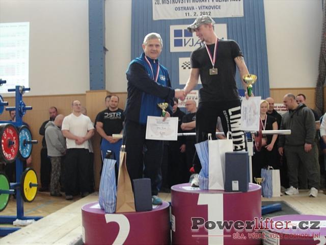 Muži do 66kg - Václav Burda, Bronislav Šlichta