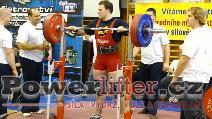 Tomáš Pilík, 220kg, opravný pokus