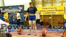 Ondřej Houžvička, 287,5kg