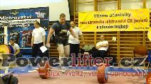 Antonín Aulický, 295kg