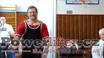 Čestmír Wolf, benč 207,5kg, český rekord M2 do 83kg