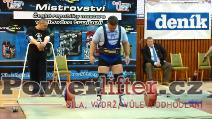 Zoltán Kanát, 290kg